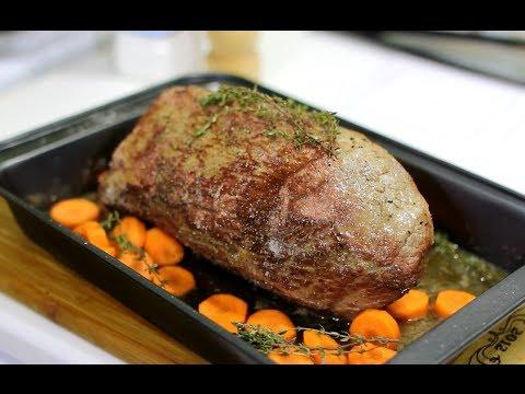 Как запечь мясо одним куском пошаговое приготовление
