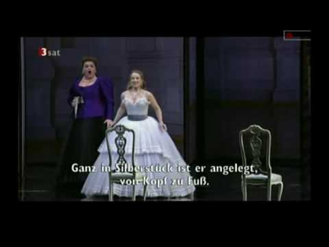 Der Rosenkavalier (beginning of the 2nd act) - Diana Damrau