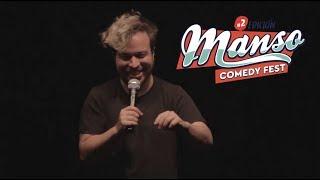 Felix Buenaventura en el Manso Comedy Fest 2017, Mendoza, Argentina