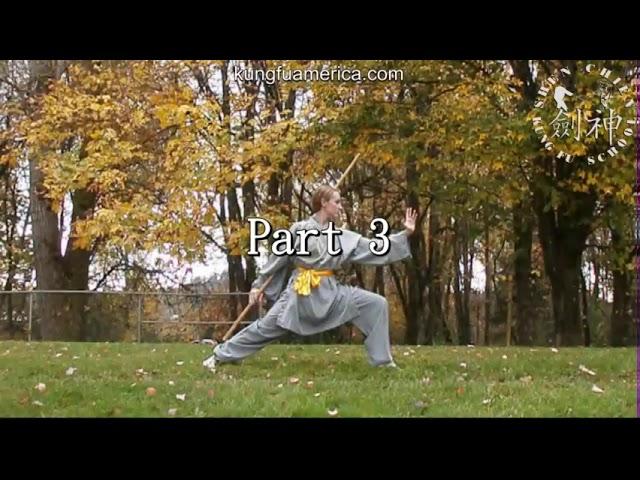 Shaolin Yin Shou Gun 少林阴手棍 Staff form