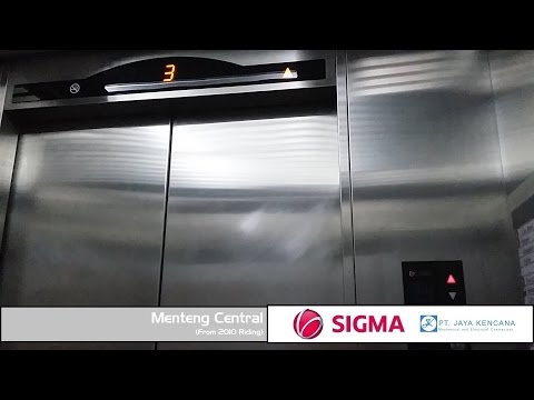 Basic Sigma Elevator at Menteng Central H.O.S. Cokroaminoto