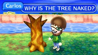 I visited my chat's weird Animal Crossing Towns
