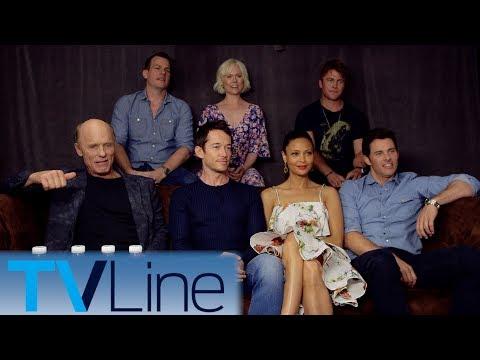 Westworld Cast on  Theories & Cast Predictions  ComicCon 2017  TVLine