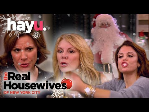 The Real Housewives of New York City | Christmas Clash At The Berkshires!