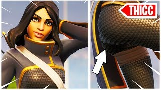 "'NOUVEAU' CUTE ""DARING DUELIST"" SKIN /w DANCE EMOTES 😍 FORTNITE SHOP"