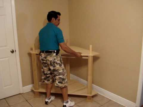 the easiest and fastest entertainment center assembly of a corner unit youtube - Corner Entertainment Center