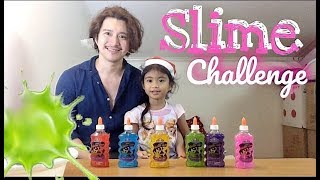 Slime Challenge Failed | Mela The Little Vlogger