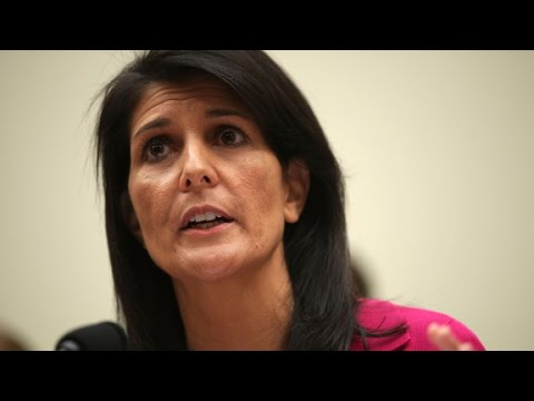 Nikki Haley: 'We can't trust Russia'