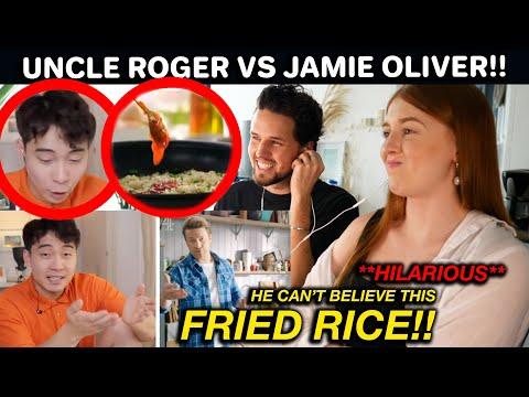 Uncle Roger HATE Jamie Oliver Egg Fried Rice?! HILARIOUS REACTION!