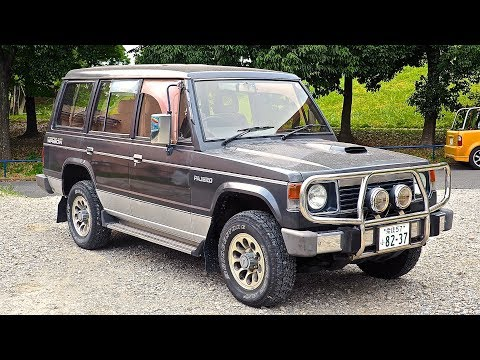 1990 Mitsubishi Pajero Turbo Diesel 4x4 (USA Import) Japan Auction Purchase Review