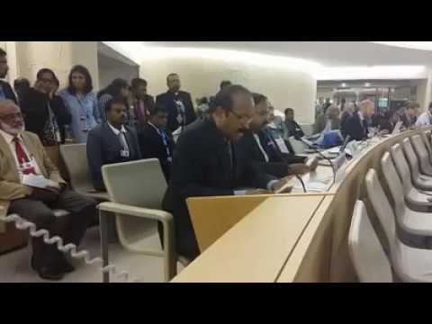 Vaiko's speech in UN Human Counsel on 20.09.2017