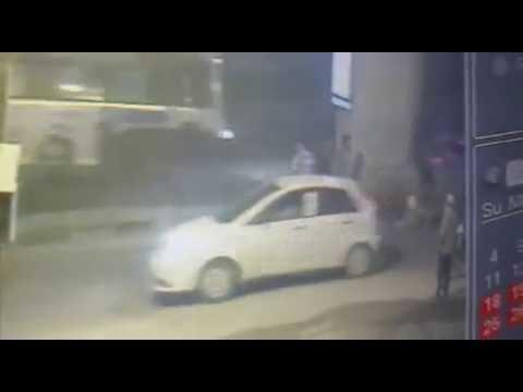 Bike  Accident at Bharatnagar