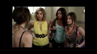 Pretty Little Liars Season 3 Episode 2 - Blood is the new Black - Jenna can see!!!