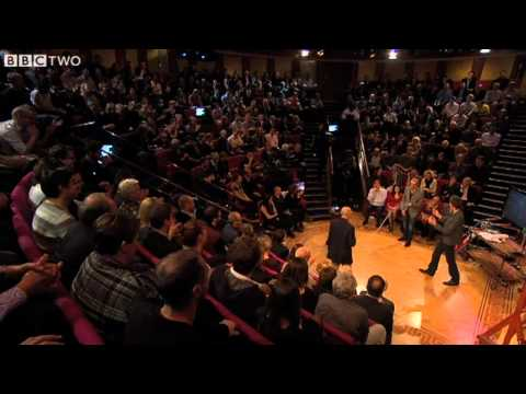 Simon Pegg and Jim Al Khalili Demonstrate Standing Waves - A Night With the Stars - BBC Two