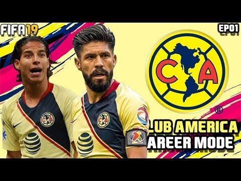 FIFA 19 Club America Career Mode Ep.01 | ITS BACK!