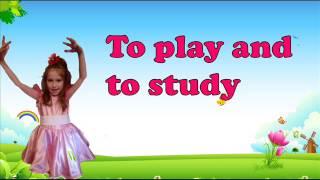 Английский язык для детей с Аней Песенка Hello Greeting