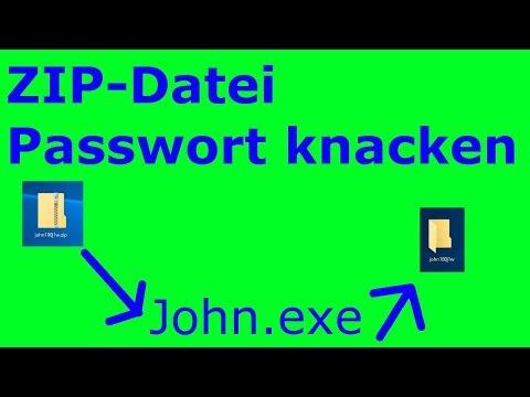 Zip Passwort Knacken | Tutorial