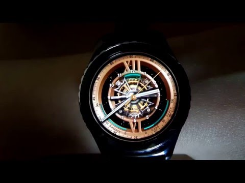 Gear OClock : Space Tourbillon - animated watch face for Samsung Gear S2 and Gear S3