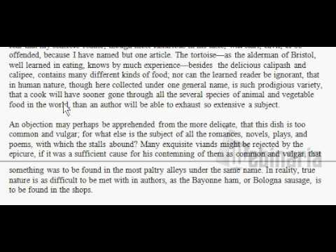 Tom Jones - English Reading - Chapter 1 - by Henry Fielding  - ESL British English Pronunciation