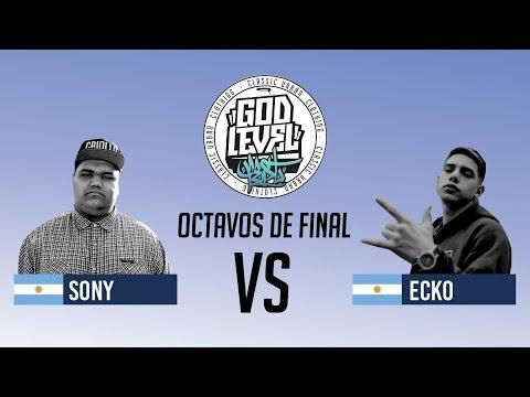 SONY VS ECKO / OCTAVOS / GOD LEVEL ARGENTINA