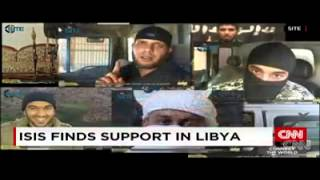 #CNN :- #ISIS finds support in #Libya