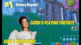 If Cardi B Played Fortnite