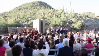Tucson Arizona Wedding Video - The Gallery at Dove Mountain