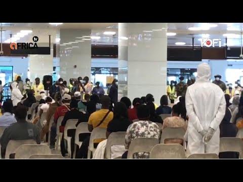 243 Ghanaians In Kuwait Arrives At Kotoka International Airport