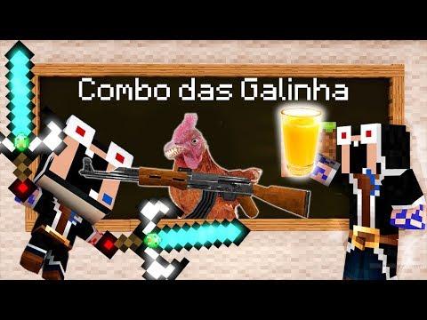 ENSINANDO PRO MEU FILHO O COMBO DAS GALINHAS !