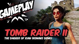 Tomb Raider II: The Dagger Of Xian (Gameplay)