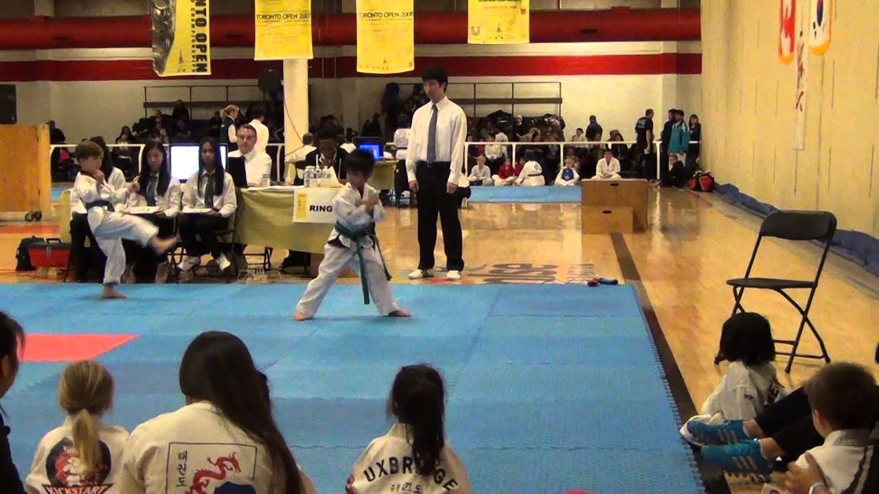 Toto Greco - Taekwondo - Toronto Open November 15, 2014 - YouTube