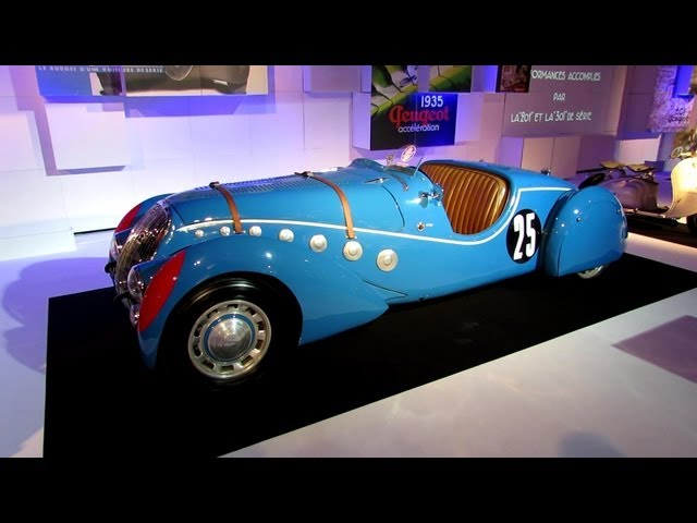 1937 Peugeot 302 Darl'mat Roadster - The Car and The Publicity Exposition - 2012 Paris Auto Show