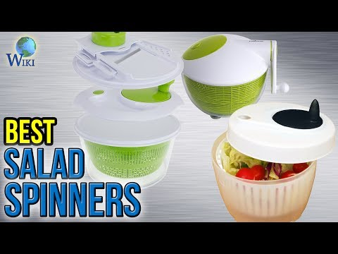 10 Best Salad Spinners 2017
