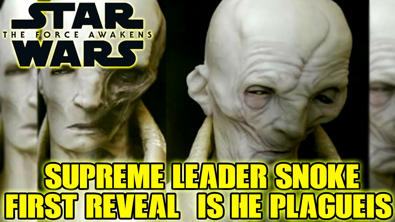 Supreme Leader Snoke Darth Plagueis