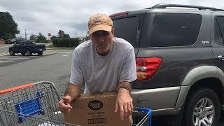 Last Minute Hurricane Florence Preparations Sees Walmart Selling Out Of Water
