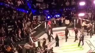 UFC 229 Full Aftermath of Khabib Vs. McGregor fight at T-Mobile Arena