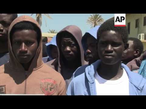 Libya sends hom 170 migrants from Mali