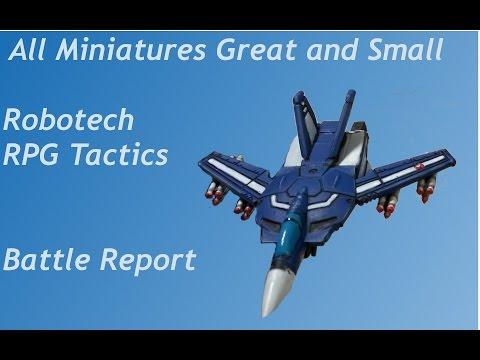 Robotech RPG Tactics Battle Report