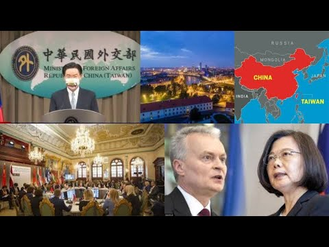 Taiwan opens Representative Office in Lithuania despite China's opposition