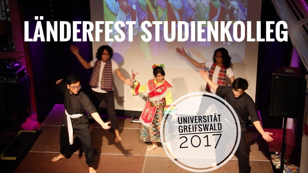 lnderfest studienkolleg universitt greifswald 2017 - Uni Greifswald Bewerbung