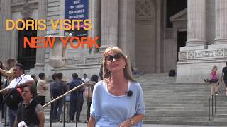 New York Library - the birth of Ghostbusters. Jean's film for Doris Visits
