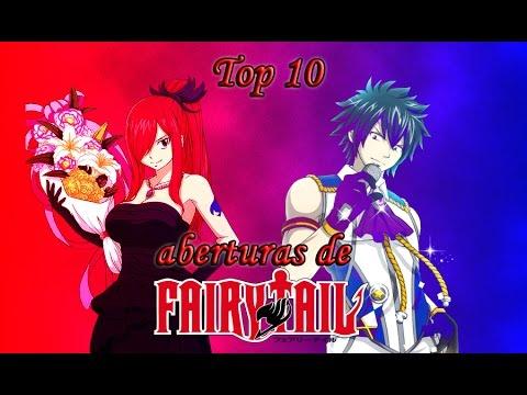 Top 10 Aberturas de Fairy Tail
