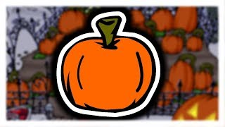 Club Penguin Rewritten: Pumpkin Pin Location