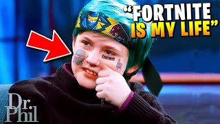 Mother Is TERRIFIED Of Her Fortnite Addicted Son.. (Dr. Phill)