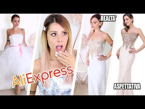 Vestiti Da Sposa Wish.Ho Comprato Abiti Da Sposa Low Cost Su Aliexpress Epic Fail