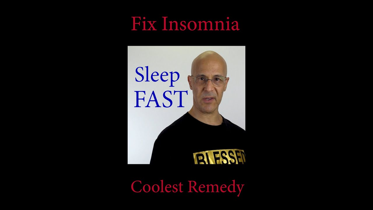 Coolest Remedy to Fix Insomnia 😴😴😴 Dr. Mandell