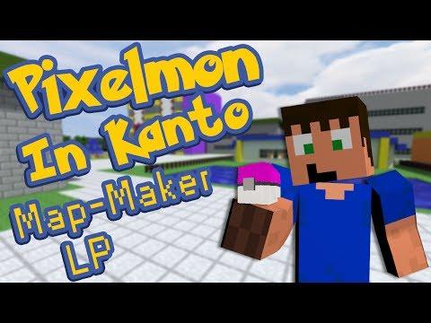 Pixelmon Map Maker Let's Play - Kanto Episode 1