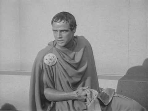 julius caesar antony s speech The speech could serve as a thematic synopsis to julius caesar perhaps more than any other of shakespeare's works, julius caesar is a play that hinges upon rhetoric—both as the art of.