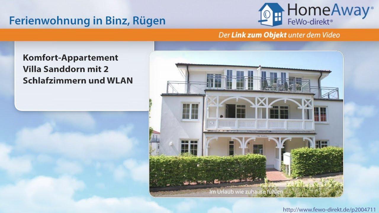 Binz: Komfort-Appartement Villa Sanddorn mit 2 Schlafzimmern und ...