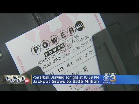 Powerball Jackpot Soars To $535 Million